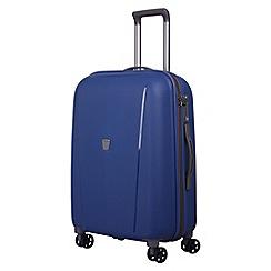 Tripp - China blue 'Ultimate Lite' medium 4 wheel suitcase