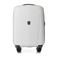 Tripp - White 'Ultimate Lite II' cabin 4 wheel suitcase