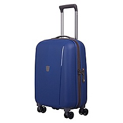 Tripp - China blue 'Ultimate Lite' cabin 4 wheel suitcase