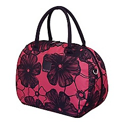 Tripp - Rose pink ' Outline Pansy' holdall