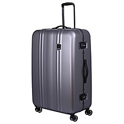 Tripp - Pewter 'Absolute Lite II ' large 4 wheel suitcase