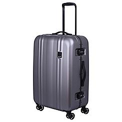 Tripp - Pewter 'Absolute Lite II ' medium 4 wheel suitcase