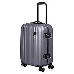 Tripp - Pewter 'Absolute Lite II 'cabin 4 wheel suitcase