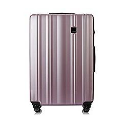 Tripp - Blush 'Retro' Large 4 wheel suitcase
