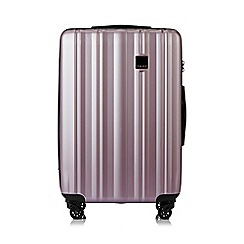 Tripp - Blush 'Retro' medium 4 wheel suitcase