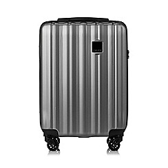 Tripp - Pewter 'Retro' cabin 4 wheel suitcase