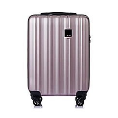 Tripp - Blush 'Retro' cabin 4 wheel suitcase