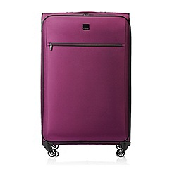 Tripp - Damson 'Full Circle' large 4-wheel suitcase