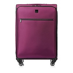 Tripp - Damson 'Full Circle' medium 4 wheel suitcase