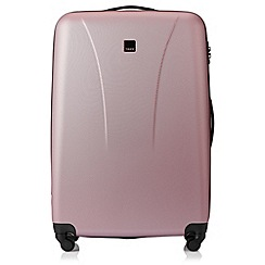 Tripp - Soft pink 'Lite' 4 wheel large suitcase
