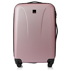 Tripp - Soft pink 'Lite' 4 wheel medium suitcase