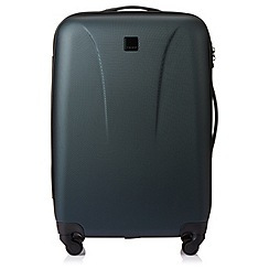 Tripp - Racing green 'Lite' 4 wheel medium suitcase