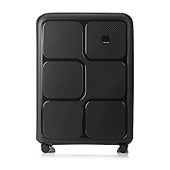 Tripp - Charcoal 'Superlock II' 4 wheel large suitcase