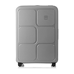 Tripp - Dove grey 'Superlock II' 4 wheel large suitcase