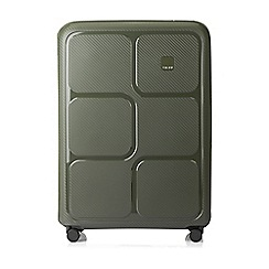 Tripp - Olive 'Superlock II' 4 wheel large suitcase
