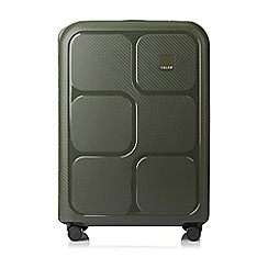 Tripp - Olive 'Superlock II' 4 wheel medium suitcase