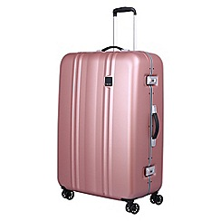 Tripp - Blush 'Absolute Lite II Frame' large 4 wheel suitcase
