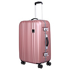 Tripp - Blush 'Absolute Lite II Frame' medium 4 wheel case