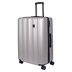 Tripp - Champagne 'Retro' large 4 wheel suitcase