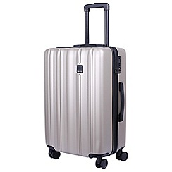 Tripp - Champagne 'Retro' medium 4 wheel suitcase