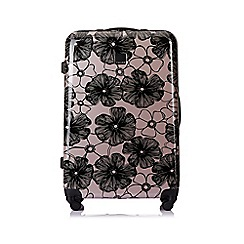 Tripp - Blush 'Pansy' hard 4 wheel large suitcase
