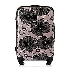Tripp - Blush 'Pansy' hard 4 wheel medium suitcase