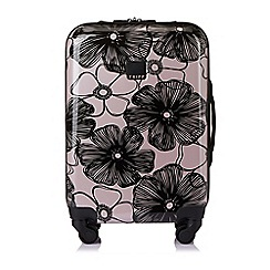 Tripp - Blush 'Pansy' hard 4 wheel cabin suitcase