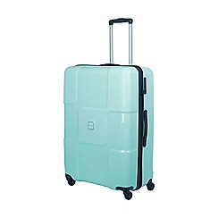Tripp - Aqua 'World' large 4 wheel suitcase