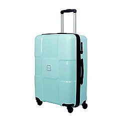 Tripp - Aqua 'World' medium 4 wheel suitcase
