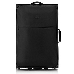 Tripp - Black 'Ultra Lite' 2 wheel large suitcase