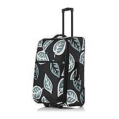 Tripp - Black 'Ultra Lite Bold Leaf' Medium 2 Wheel Case