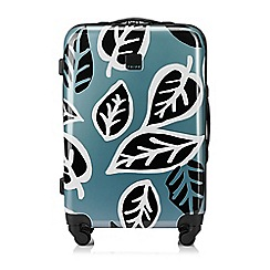 Tripp - Black  Ultra Lite Bold Leaf  Medium 4 Wheel Case 6240ca78c