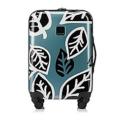 Tripp - Black 'Ultra Lite Bold Leaf' Cabin 4 Wheel Case