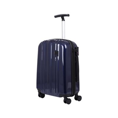 Tripp   Ink Blue Ii 'absolute Lite' Cabin 4 Wheel Suitcase by Tripp