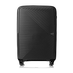 Tripp - Black 'Chic' Large 4 Wheel Suitcase