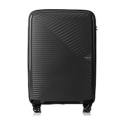 Tripp - Black 'Chic' Medium 4 Wheel Suitcase