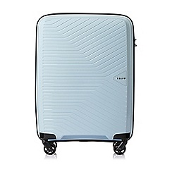 Tripp - Ice Blue 'Chic' Cabin 4 Wheel Suitcase