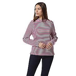 Craghoppers - Pink balmoral crew neck sweatshirt