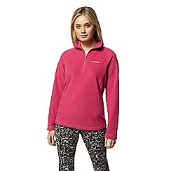 Craghoppers - Pink miska half zip fleece