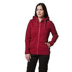 Craghoppers - Pink Strata Hooded Jacket