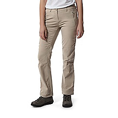 Craghoppers - Beige Nosilife Professional Regular Length Trousers