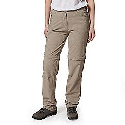 Craghoppers - Beige Nosilife Pro Convertible Long Length Trousers