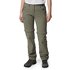 Craghoppers - Green Nosilife Pro Convertible Regular Length Trousers