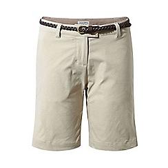 Craghoppers - Beige Nosilife Fleurie Shorts