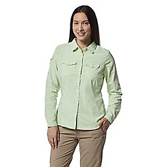 Craghoppers - Green nosilife adventure long sleeved shirt