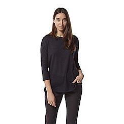 Craghoppers - Navy Nosilife Shelby Long Sleeved Top