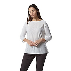 Craghoppers - Grey Nosilife Shelby Long Sleeved Top