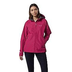 Craghoppers - Pink Juno Waterproof Hooded Jacket
