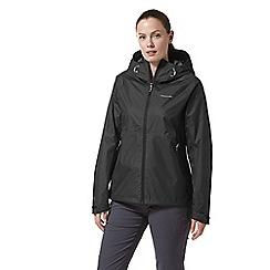 Craghoppers - Black Juno Waterproof Hooded Jacket