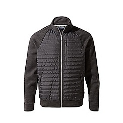 Craghoppers - Black attilo hybrid water resistant jacket